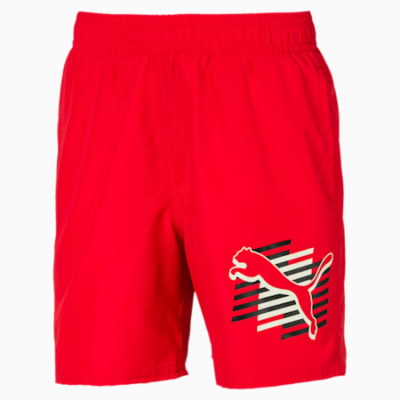 Summer Boys' Woven Shorts, High Risk Red, small-IND