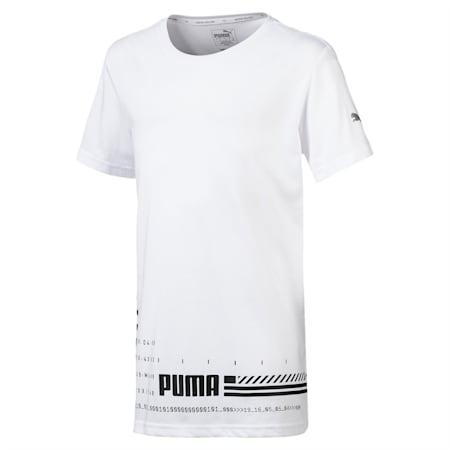 キッズ エナジー SS Tシャツ 半袖, Puma White, small-JPN