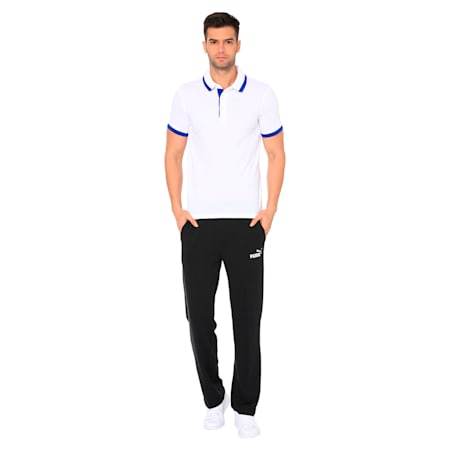 Tipping ESS Pique Men's PoloTee, Puma White, small-IND