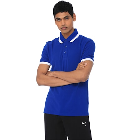 Tipping ESS Pique Men's PoloTee, Sodalite Blue, small-IND