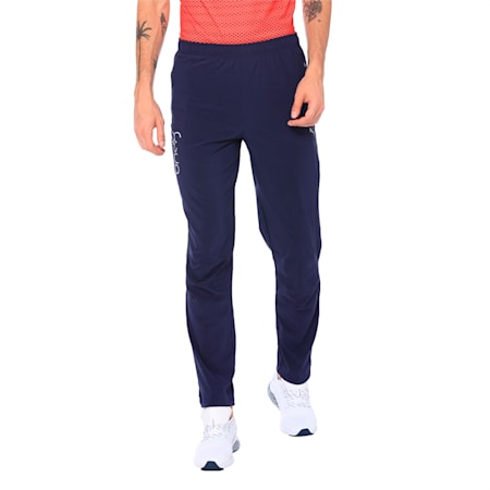 one8 Virat Kohli Active Men's Pants, Peacoat, small-IND