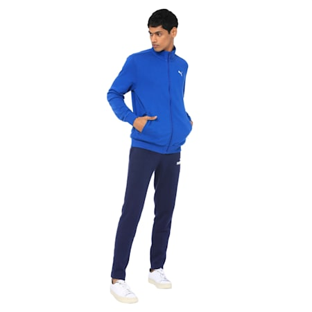 India Sweat Jacket, Galaxy Blue, small-IND