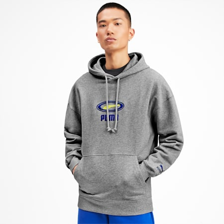 Sweat à capuche CELL OG pour homme, Medium Gray Heather, small