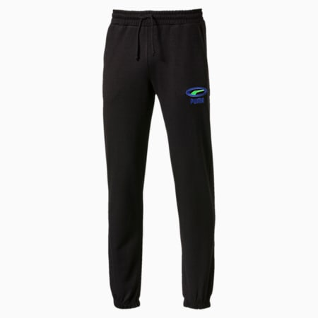 CELL OG Cuffed Men's Pants, Puma Black, small-SEA