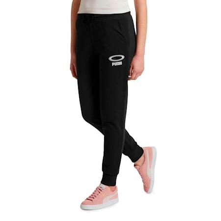 OG Women's Cuffed Pants, Puma Black, small