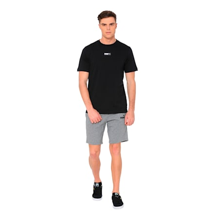 Fusion Tee, Cotton Black, small-IND