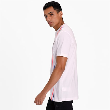 RS-X Stripe Men's T-Shirt, Puma White, small-IND