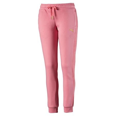 Pantaloni da tuta in pile da donna, Brandied Apricot, small