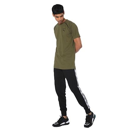 Men's Tape Sweatpants, Puma Black, small-IND
