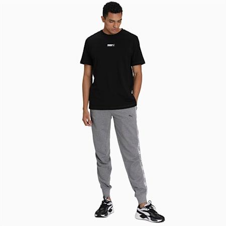 Men's Tape Sweatpants, Medium Gray Heather, small-IND