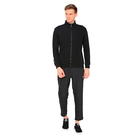 Sweat Jacket 2 Men's TR, Cotton Black, small-IND