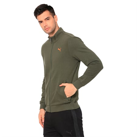 Sweat Jacket 4 Men's TR, Forest Night, small-IND
