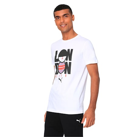 Cricket Graphic Tee, Puma White, small-IND