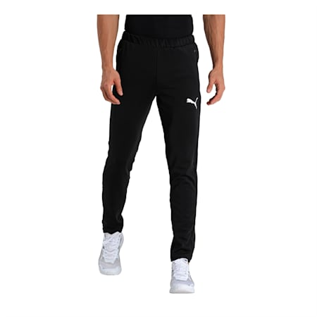 Ones8 Virat Kohli Knitted Men's Pants, Puma Black, small-IND