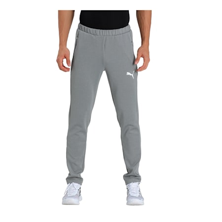 Ones8 Virat Kohli Knitted Men's Pants, Medium Gray Heather, small-IND