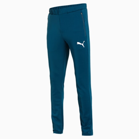 Ones8 Virat Kohli Knitted Men's Pants, Intense Blue, small-IND