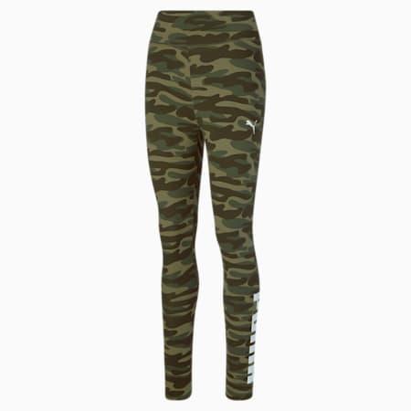 Leggings camufladas Essentials+ para mujer, Grape Leaf, pequeño