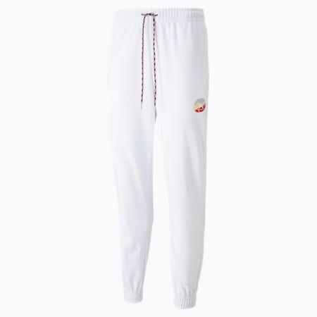 Pantalon d'entraînement AS, homme, Blanc Puma, petit