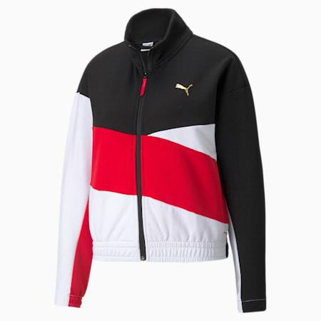 Art of Sport Women's Track Jacket, Puma Black, small-IND