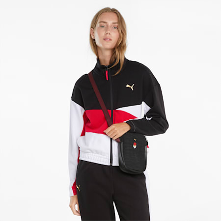 Art of Sport Relaxed Fit Women's Track Jacket, Puma Black, small-IND