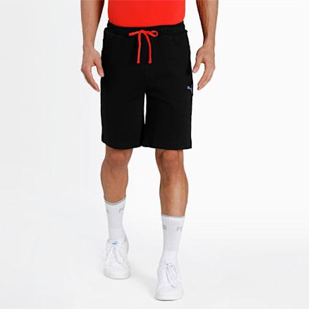 one8 Virat Kohli Slim Fit Men's Shorts, Puma Black, small-IND