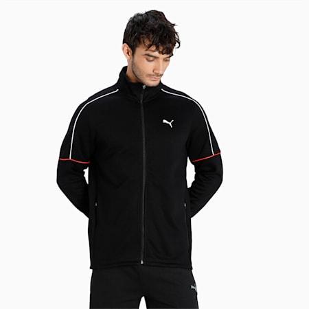 one8 Virat Kohli Slim Fit Men's Jacket, Puma Black, small-IND