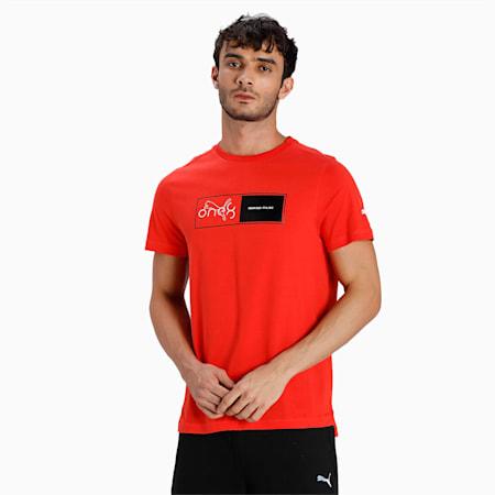 one8 Virat Kohli Graphic Slim Fit Men's T-Shirt, Grenadine, small-IND