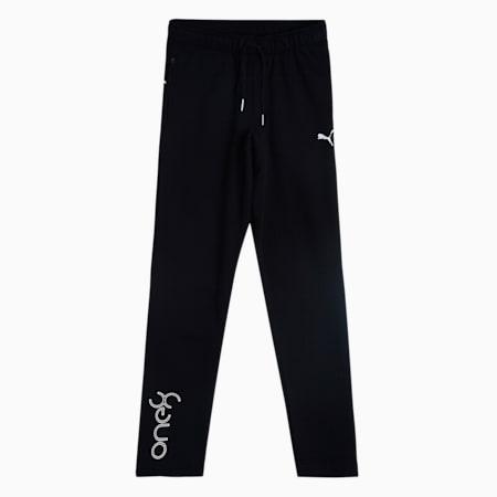 one8 Virat Kohli Logo Men's Sweat Pants, Puma Black, small-IND