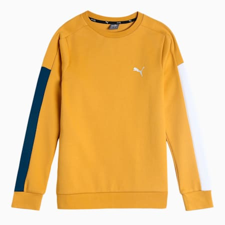 one8 Virat Kohli Men's Crew T-Shirt, Mineral Yellow, small-IND