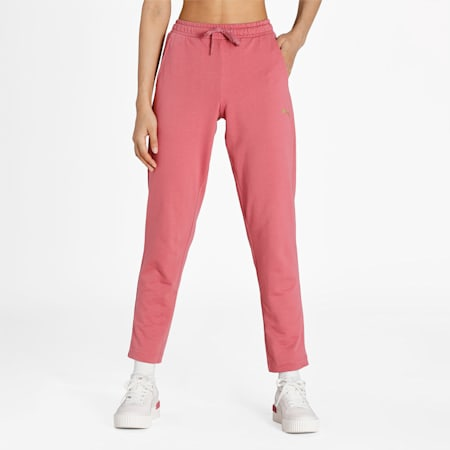PUMA 7/8 Regular Fit Knitted Women's Pants, Mauvewood, small-IND