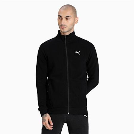 Ottoman Full-Zip Men's Jacket, Puma Black, small-IND