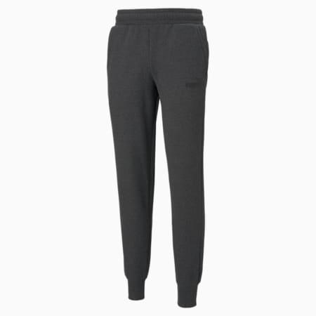 Pantalones EssentialsLogopara hombre, Dark Gray Heather, pequeño