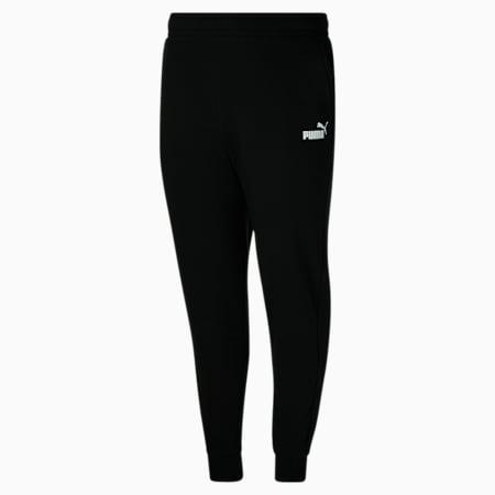Pantalones con logo Essentials para hombre BT, Cotton Black, pequeño