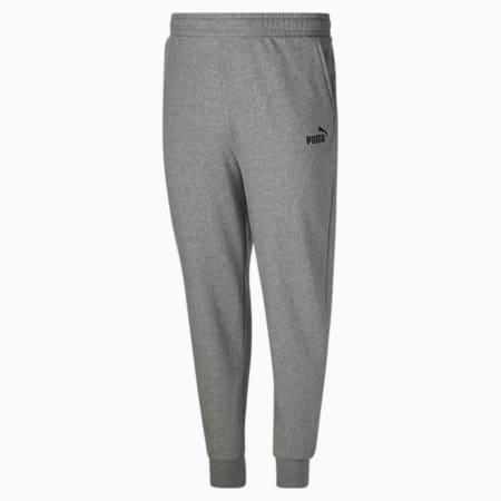 Pantalones con logo Essentials para hombre BT, Medium Gray Heather, pequeño