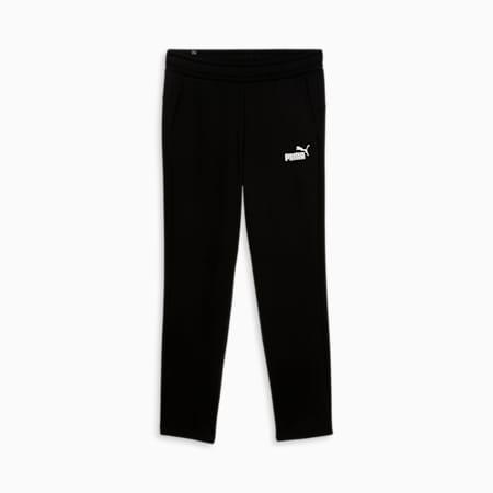 Pantalon à logo Essentials, homme, coton noir, petit