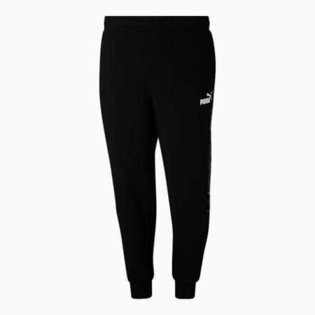 Pantalones para entrenamiento estampados BT, Cotton Black, pequeño