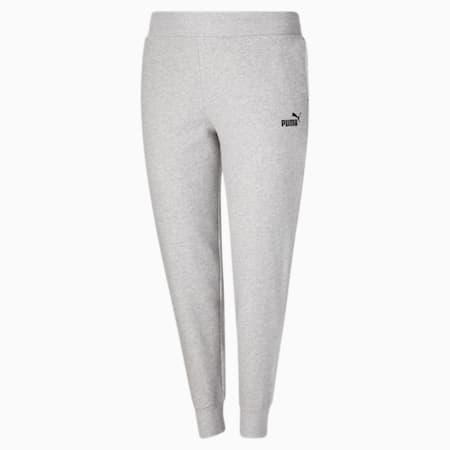 Pantalon en molleton Essentials PL, Gris bruyère clair-noir Puma, petit