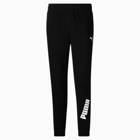 Pantalon Modern Sports, femme, coton noir, petit