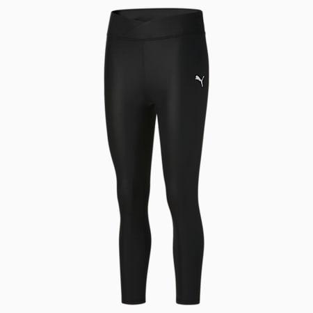 Calzas Modern Sports 7/8 Shiny para mujer, Puma Black, pequeño
