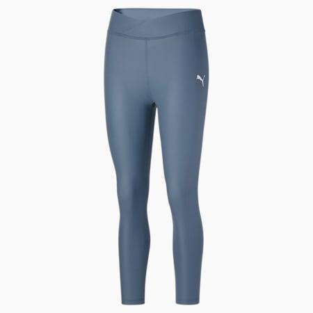 Calzas Modern Sports 7/8 Shiny para mujer, China Blue, pequeño