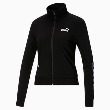Chaqueta deportiva con logo PUMA POWER para mujer, Cotton Black, pequeño