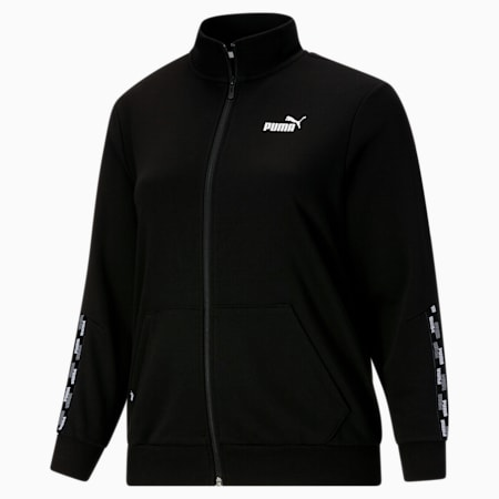 Chaqueta deportiva con logo PUMA POWER PL, Cotton Black, pequeño