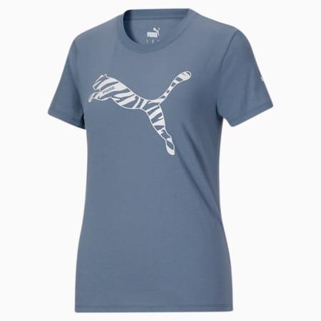 T-shirt Modern Sports, femme, Bleu de Chine, petit