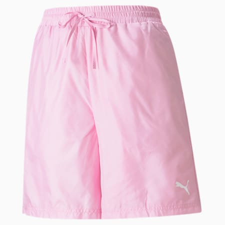 Shiny Women's Shorts, Pale Pink, small-GBR
