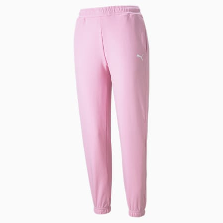 Women's Sweatpants, Pale Pink, small-GBR