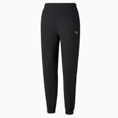 Women's Sweatpants, Puma Black, small-GBR