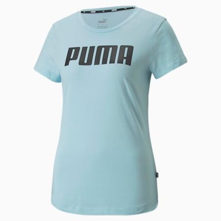 T-shirt Essentials da donna, Crystal Blue, small