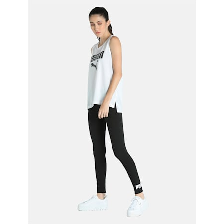 PUMA Essential Tight Fit Women's Leggings, Puma Black, small-IND