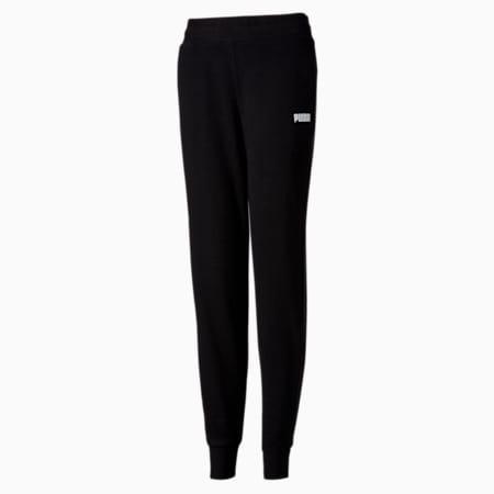 Essentials Women's Sweat Pants, Puma Black, small-SEA