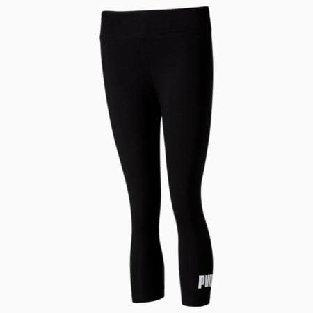 Essentials 3/4 Women's Leggings, Puma Black, small-SEA